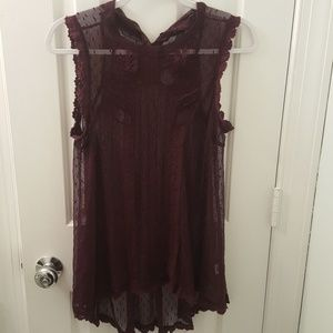 Size medium Free people tunic